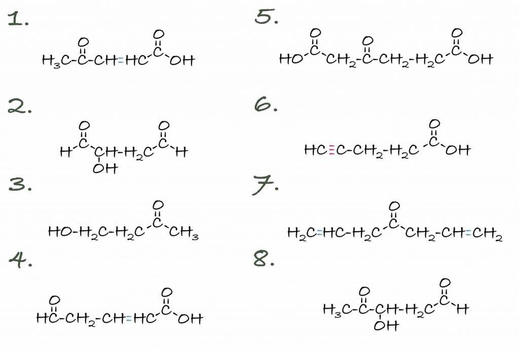 Aldehyde Übung