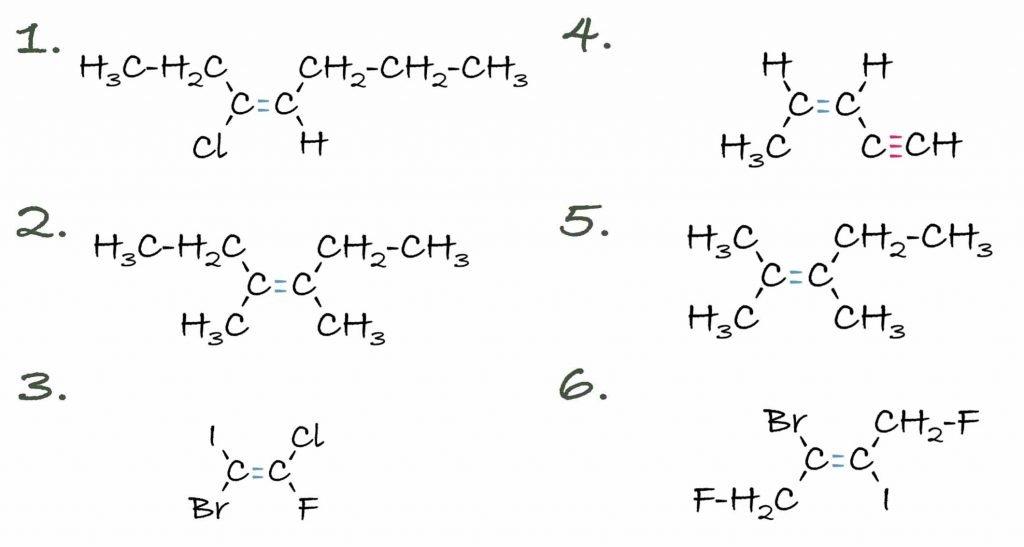 E/Z Isomerie