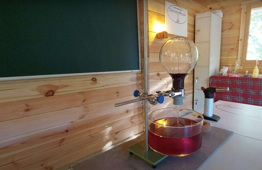 Experiment - Ammoniakspringbrunnen